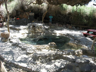 Main pool with sink in background (Lower Saline)